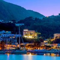 Hotel Gran Paradiso from the sea