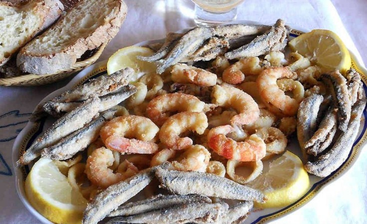 Fried fish festival in Santa Maria di Leuca