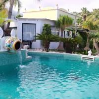Park Hotel La Villa Resort amphora pool of Aphrodite