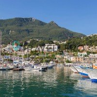 Hotel Gran Paradiso Ischia view from sea