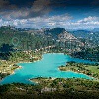 Lake Castel San Vincenzo panorama