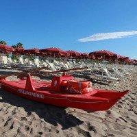 Club Esse Sunbeach beach in concession 7