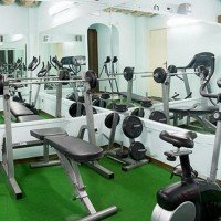 Hotel La Luna gym details