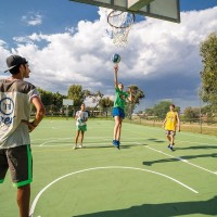 TH Bay of the Achaeans basketball courts