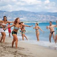 TH Baia degli Achaeans entertainment on the beach